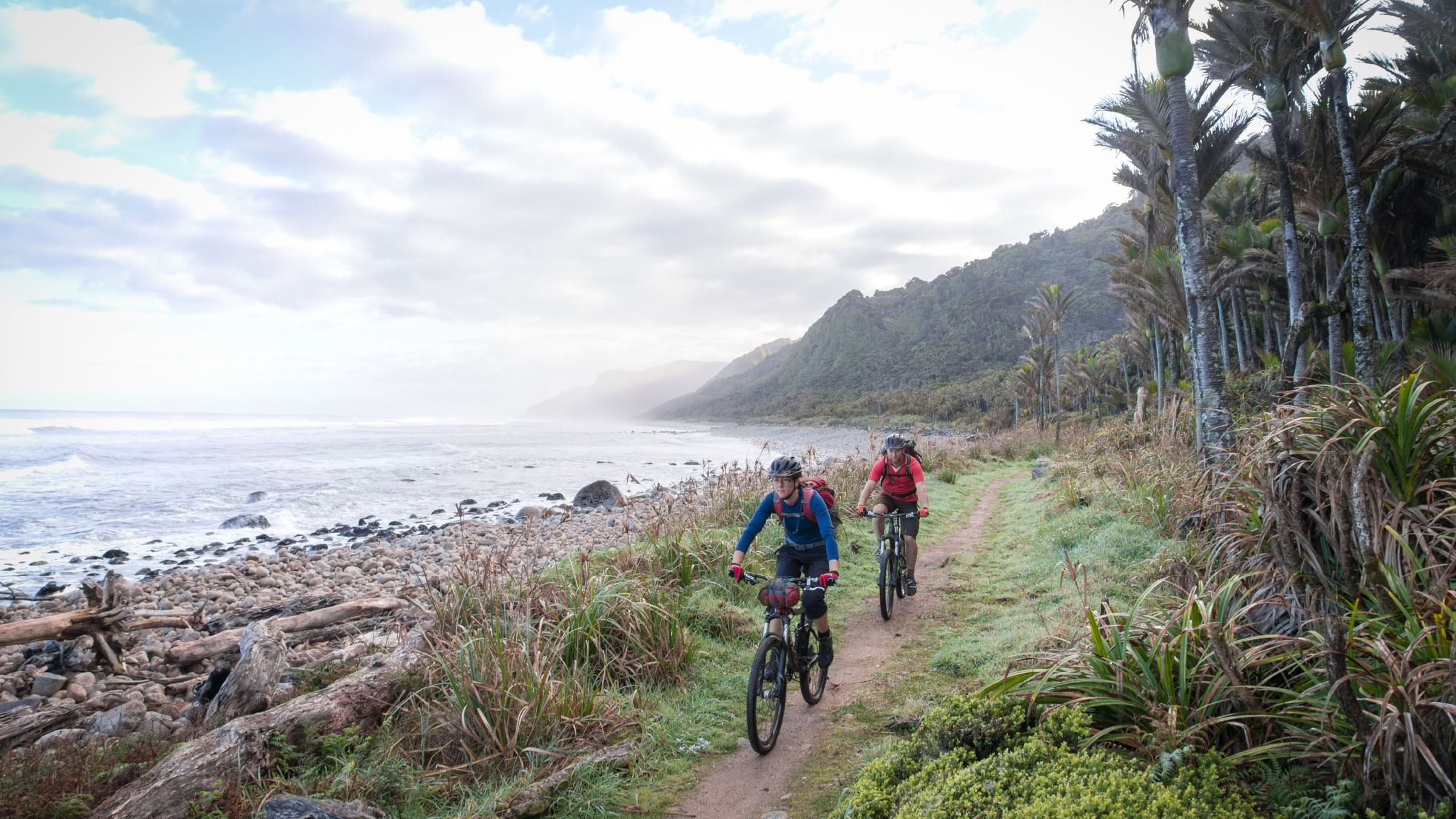 Mountain bikes are permitted on New Zealand's Heaphy Track for some of the year