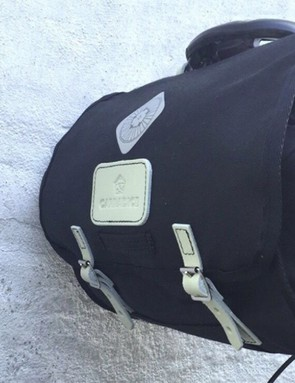 Voluminous and simple, the trusty Carradice saddle bag is the best way to carry enough food for a long day on the bike