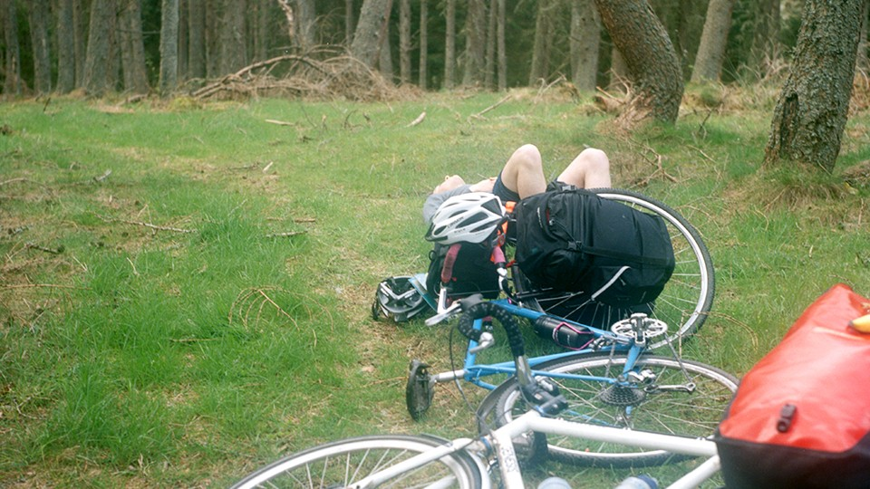 Use your time off the bike to indulge in quality rest