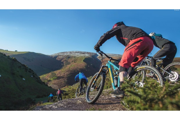 MBUK gets the guided tour around Long Mynd where the natural trails are as stunning as the landscape