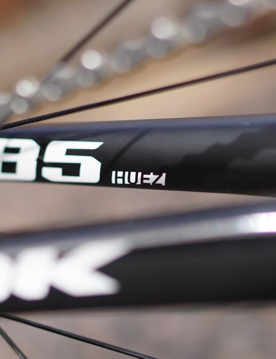 The 785 Huez comes in a few builds, from the Shimano 105 tested here (which isn't available in the UK), up through Ultegra Di2 and mechanical to Dura-Ace and SRAM eTap