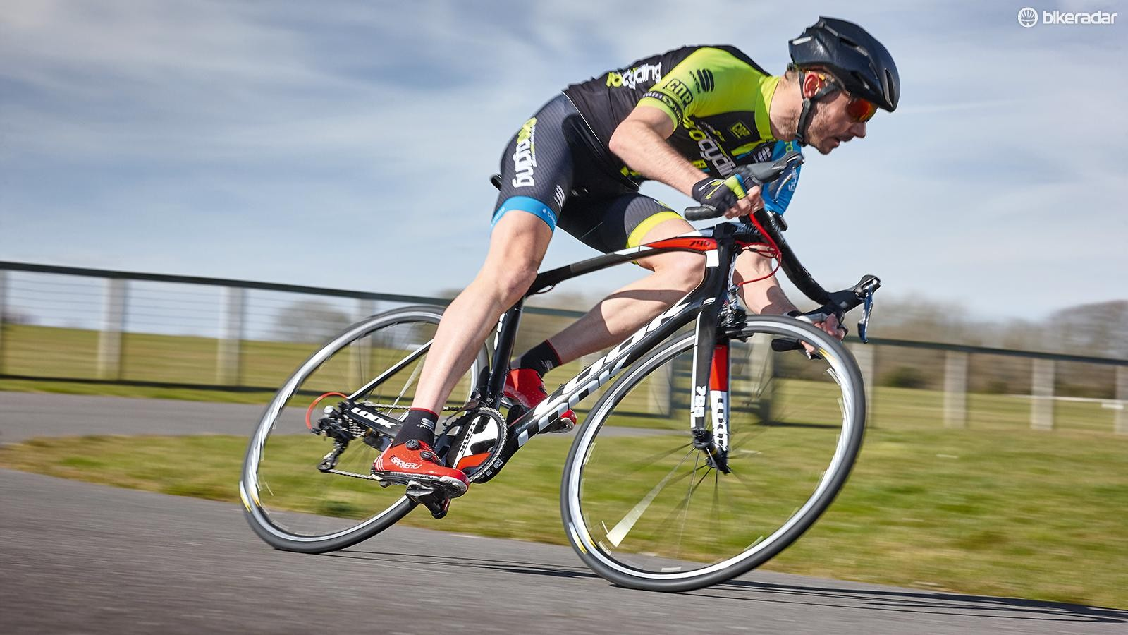 This Look is by no means a bad bike, but its integrated features don't add enough and the wheels hold it back