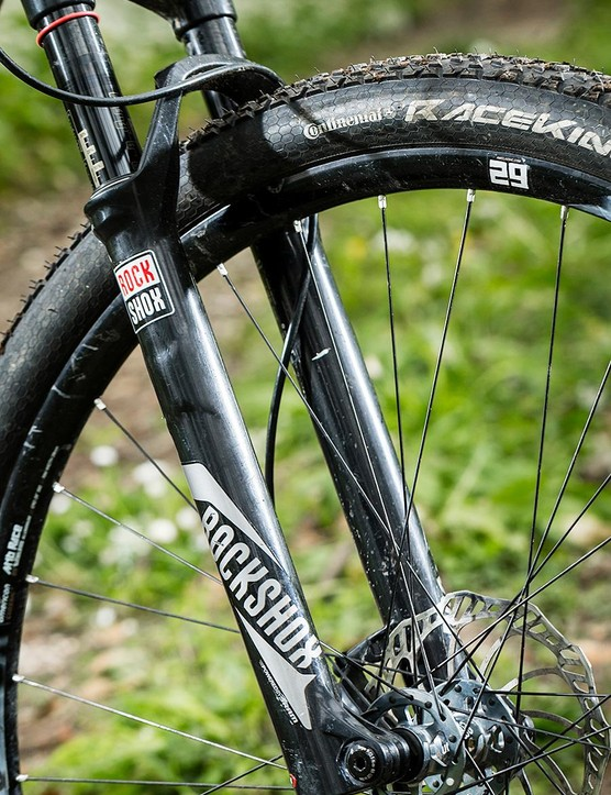 It's a shame the RockShox SID fork isn't an RCT3 model