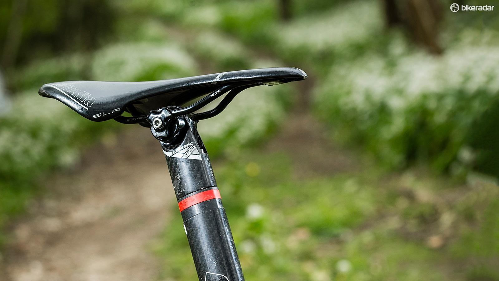 An integrated seatmast is a rarely seen thing