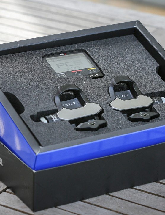 The pedals will be available in a number of bundles, including the dual-sided bundle that comes with a PC8 head unit