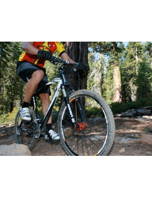 Here it comes:  Look's 986 carbon hardtail.