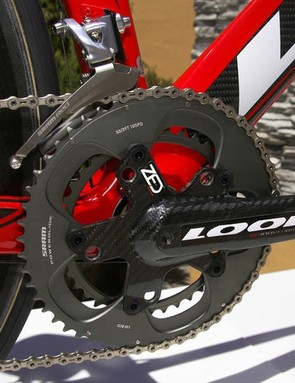 The Look Zed carbon crank.