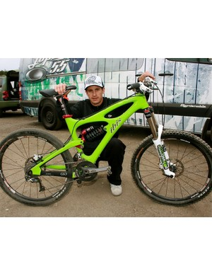 Brian Lopes, 2008 Mountain Bike Hall of Fame inductee.