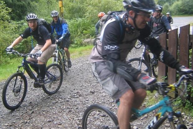 Riders at the 2007 UK Yeti Tribemeet