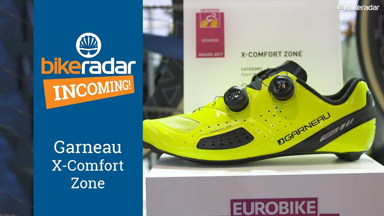 Louis Garneau's X-Comfort Zone is designed to keep your feet happy