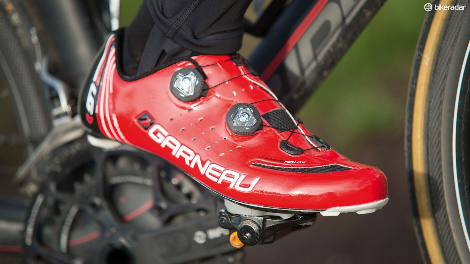 Louis Garneau's Course Airlite may not be the first name on the shopping list, but these are high-grade shoes worthy of your attention