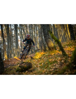 Louise Ferguson ripping her home trails