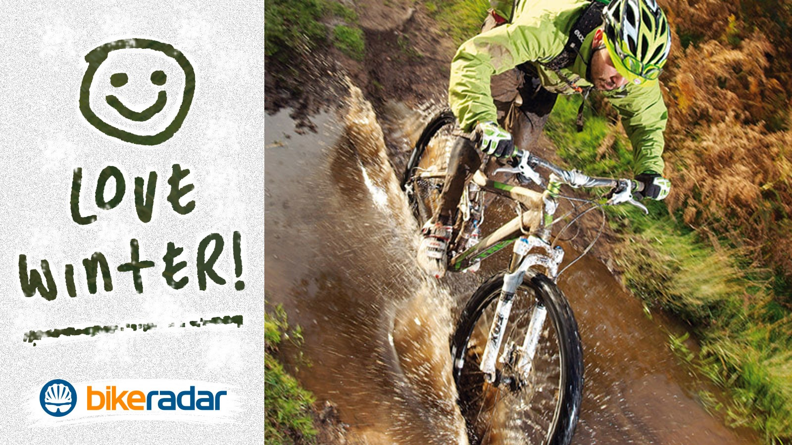With the right techniques you'll conquer winter riding