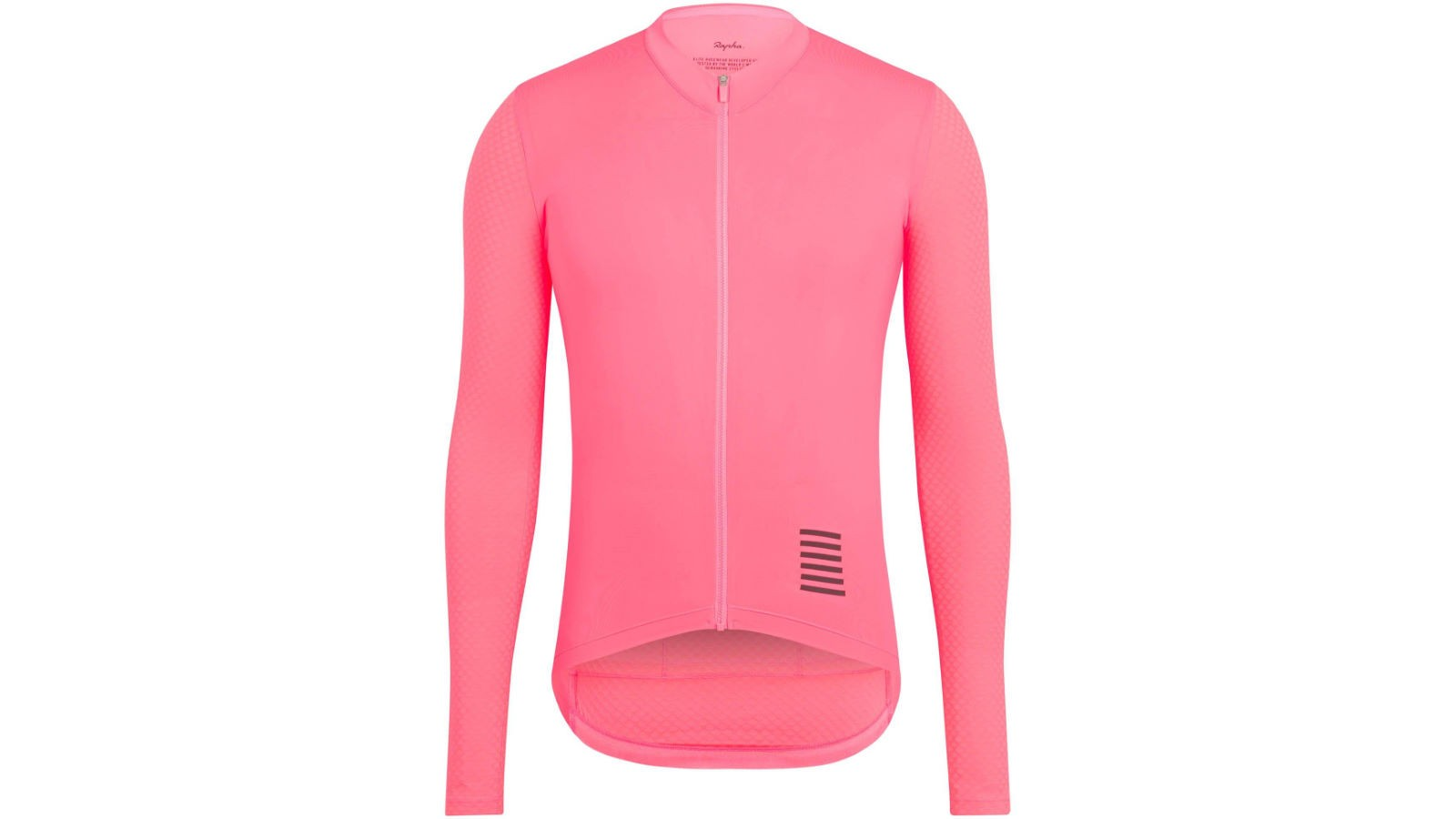 Maintain your speed during the cooler months with the aero Pro Team jersey