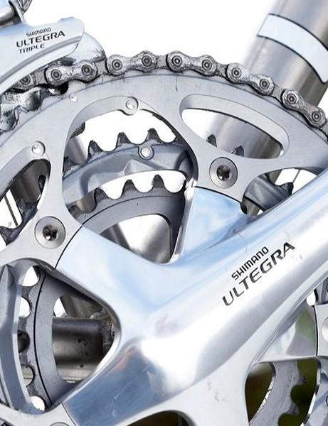 Ultegra triple crankset