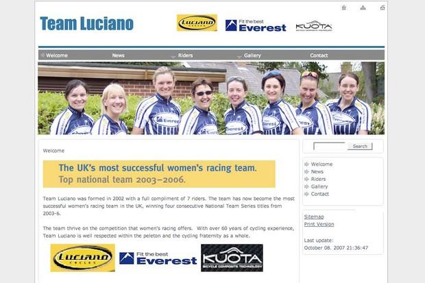 Team Luciano.
