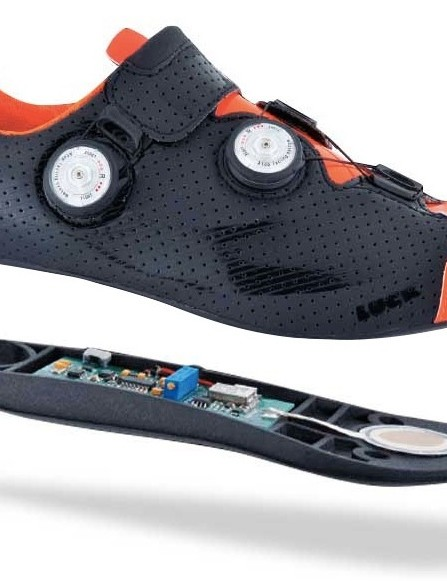 No need to have multiple power meters for each bike if your power meter is in your sole