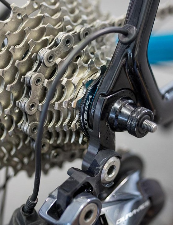 Astana were the only WorldTour team running Shimano Ultegra cassettes at the Tour Down Under