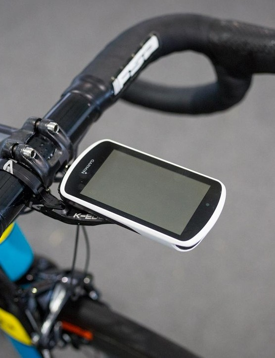 Astana are using Garmin Edge 1030 computers with K-Edge mounts for the 2018 season