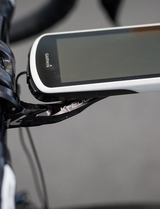 K-Edge has become the go-to computer mount brand in the WorldTour peloton