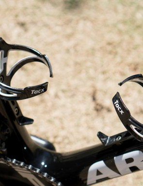 Tacx Ciro bottle cages are another simple and effective finishing component that is wide spread at the top of the sport