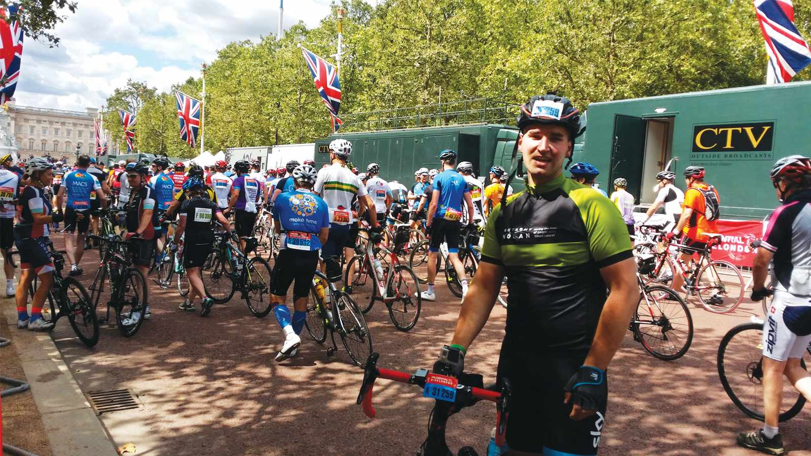 Lukas is aiming for Ride London again in 2017