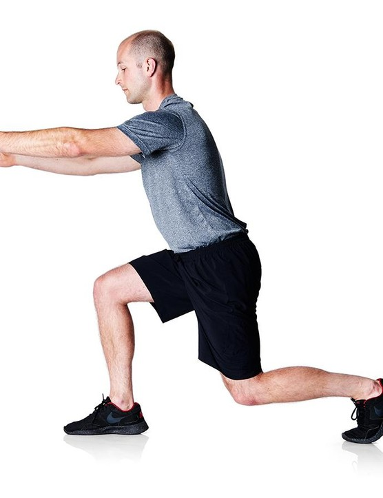 Do some mobility exercises like slow lunges