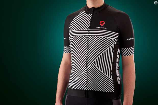 Lusso's Stripes Short Sleeve jersey