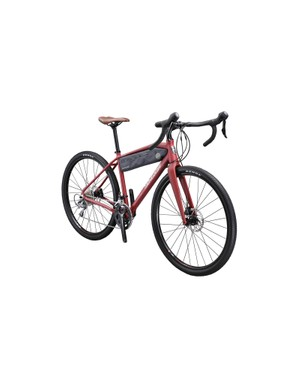 The top two Mongoose Guide bikes come with hydraulic Shimano disc brakes and carbon thru-axle forks
