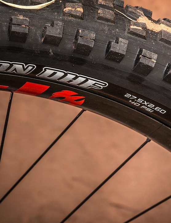 If 2.6in is the new normal for mountain bike tires, count me in