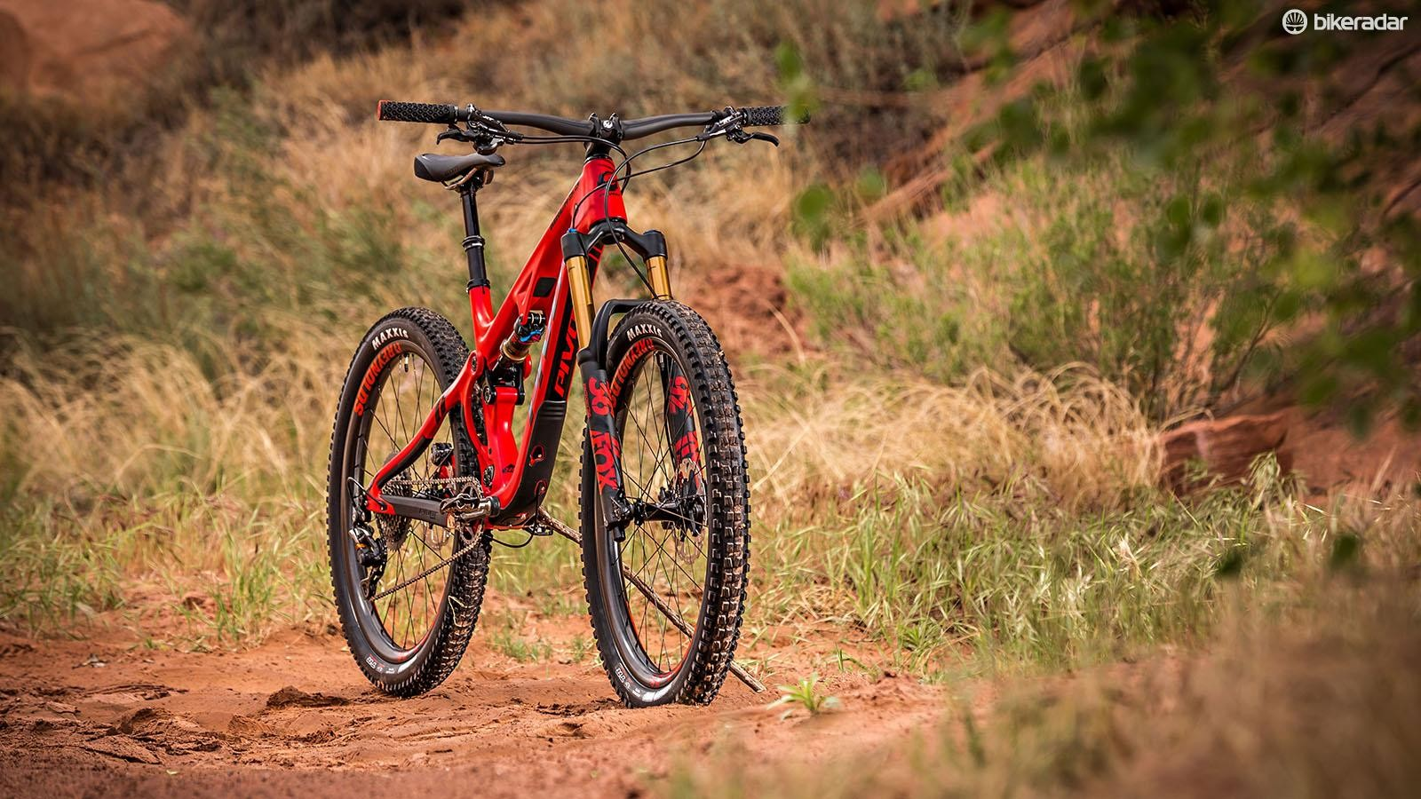 The Mach 5.5 Carbon is an outstanding entrant into the trail bike market