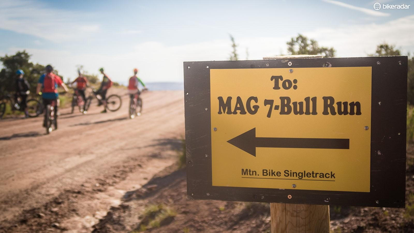 We spent two days testing the Mach 5.5 Carbon on some of the finest trails in United States
