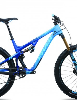 Pivot is celebrating 10 years of building bikes with a special Mach 5.5 Carbon