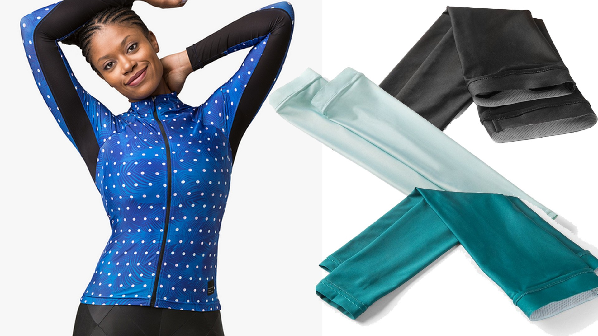 Machines for Freedom offer both arm warmers and longsleeve jerseys with UPF50