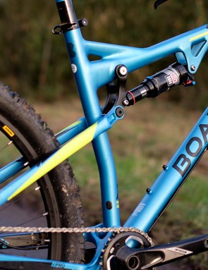 The new Boardman MTB Pro FS is particularly well equipped considering its £1,500 price tag