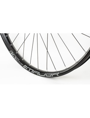 We like the look of the subdued graphics on the new S1 wheels