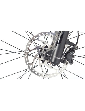 A bigger rotor will increase stopping power