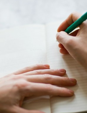 Write down your goals on paper, with a deadline