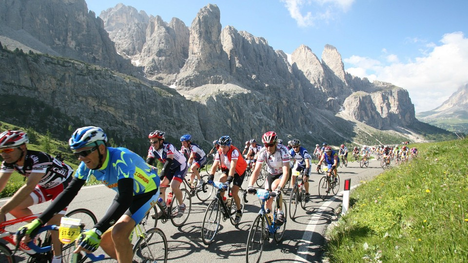 The date of the 2020 Maratona dles Dolomites  Enel is Sunday July 5, 2020. Closed road Italian Gran Fondo riding at its very best, The Maratona dles Dolomites  Enel is widely regarded as one of the toughest cycling events around, not for its distance but for