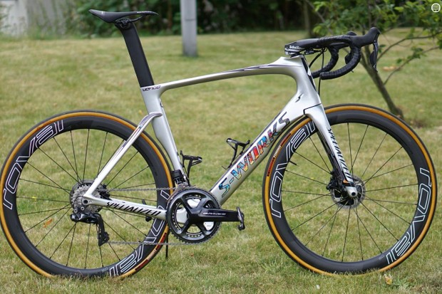 Marcel Kittel's history-making Specialized S-Works Venge ViAS Disc