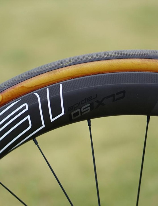 Specialized's Roval CLX50 Rapide tubulars
