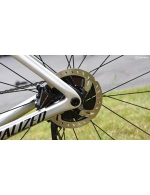 Kittel has both rim-brake and disc-brake Venges at the Tour