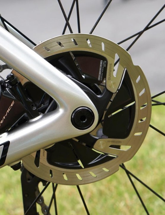Kittel has both rim-brake and disc-brake Venges at the Tour
