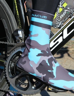 Panache Blue Camo thermal booties
