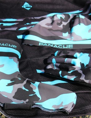 All the Blue Camo pieces are fleece-lined for staying warm on cold days