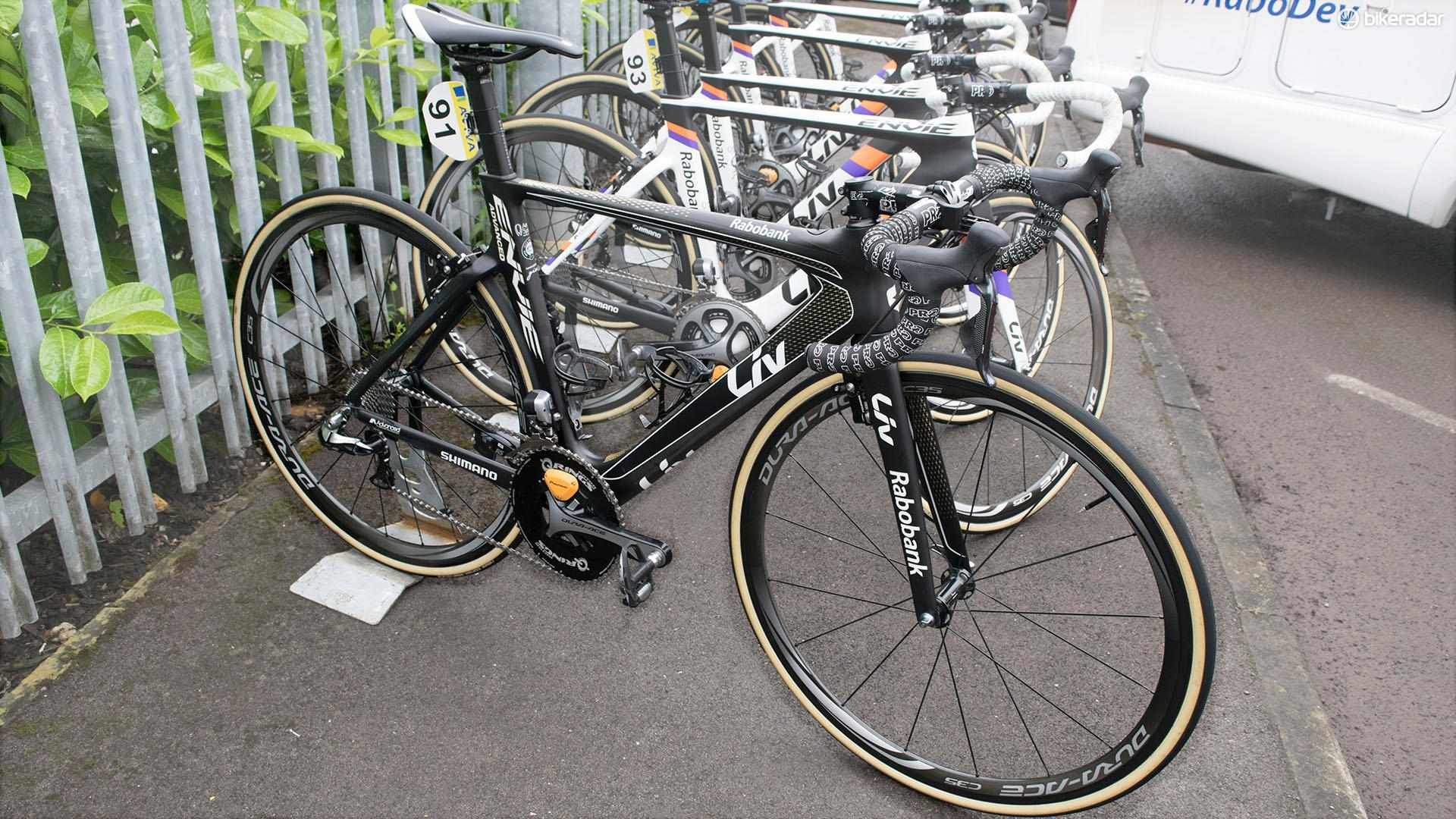 Marianne Vos' special edition Liv Envie Advanced