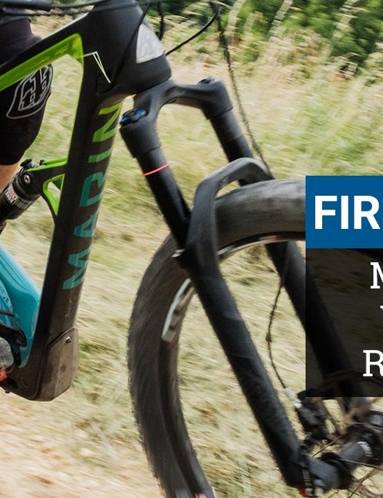 Marin Wolf Ridge 9 first ride