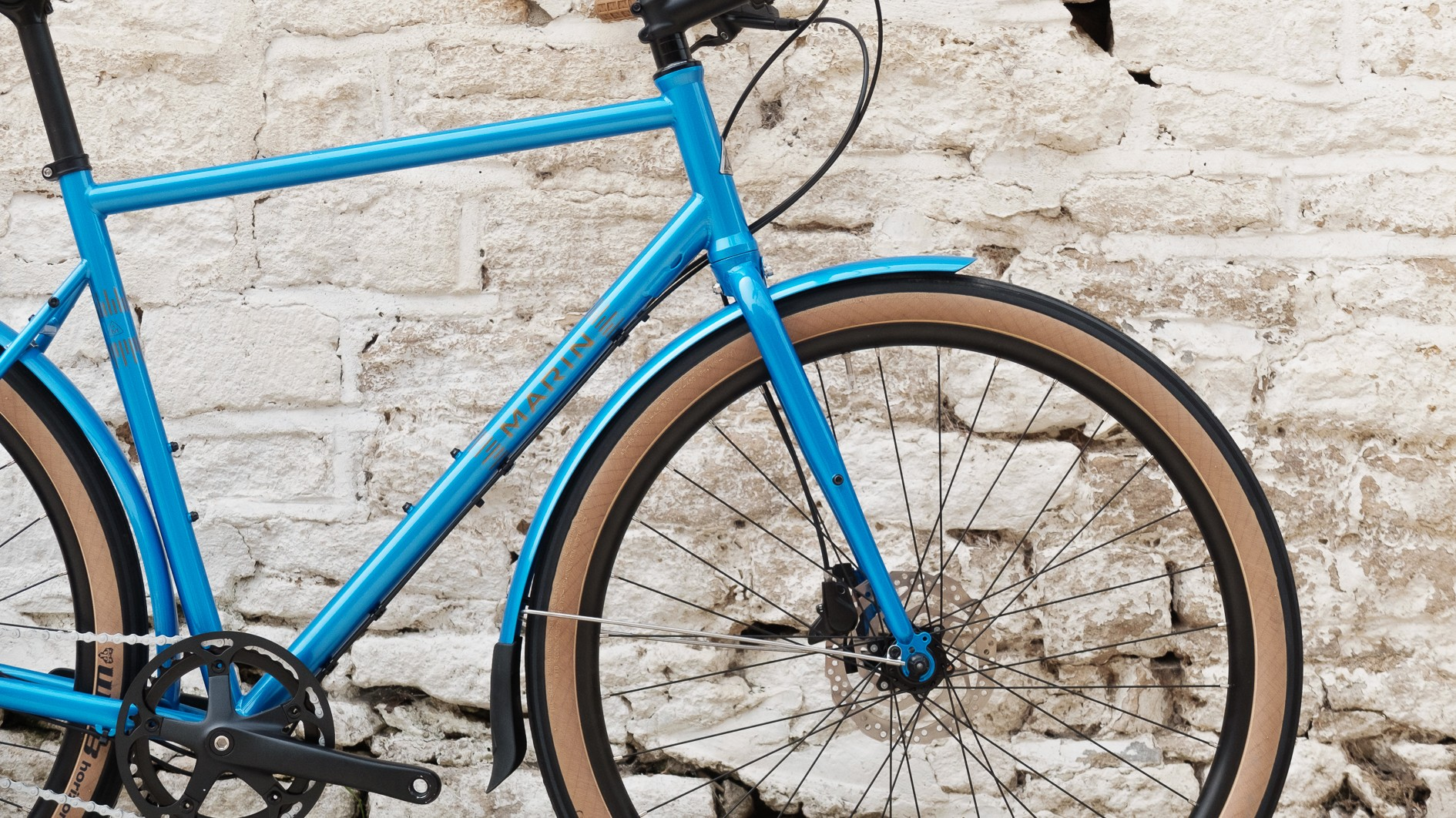 How can you not love colour-matched mudguards?
