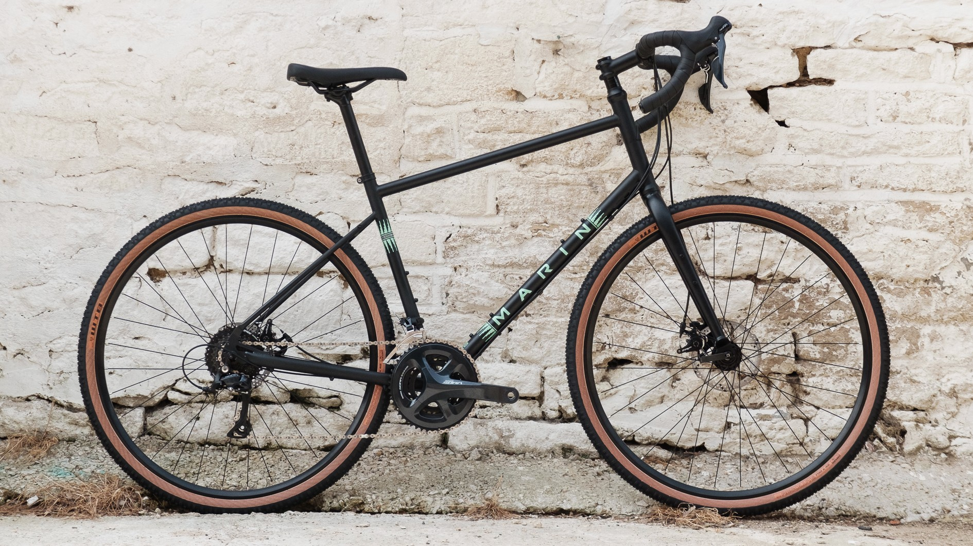 The Four Corners is Marin's dirt-touring bike