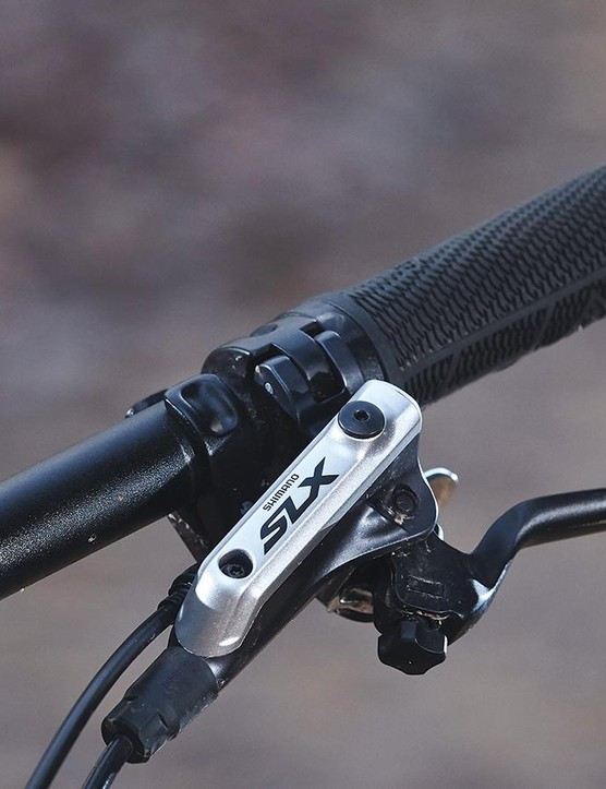 Shimano SLX brakes give reliable stopping power